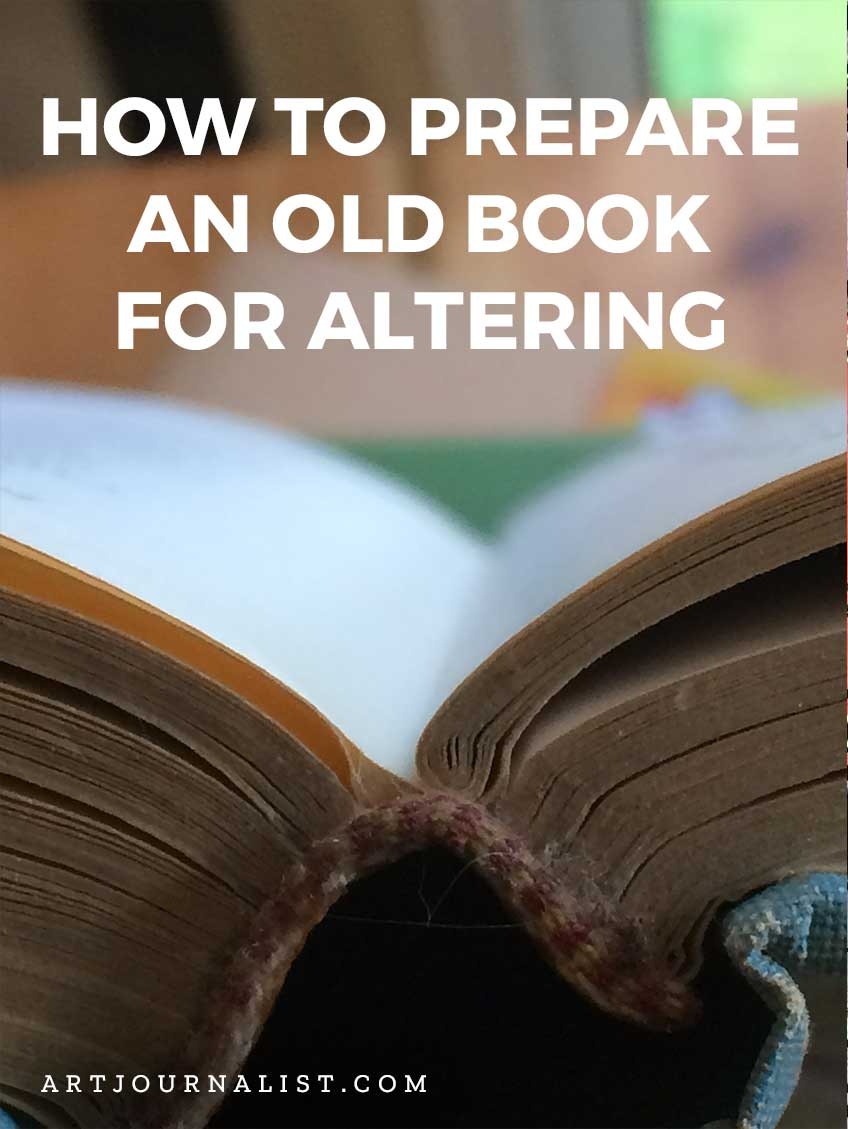 How to Alter an Old Book