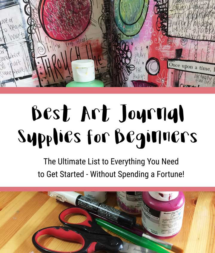 best art journaling supplies for beginners