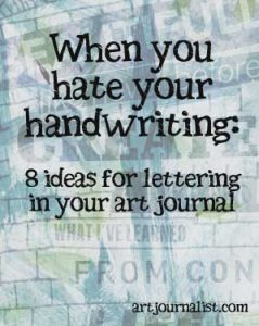 When You Hate Your Handwriting: 8 Creative Lettering Ideas for Your Art Journal