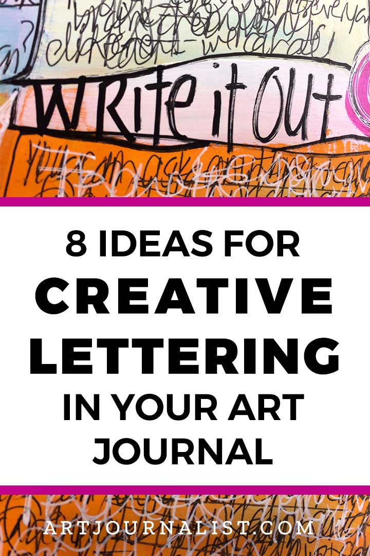 Lettering Ideas for Art Journaling