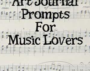 16 Art Journal Prompt Ideas for Music Lovers