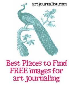 Where to Find Free Graphics & Printables for Your Art Journals