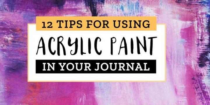 acrylic paint tips