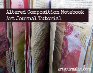 How to Make an Altered Composition Book Art Journal