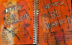 Art Journal Fail: Create Anyways