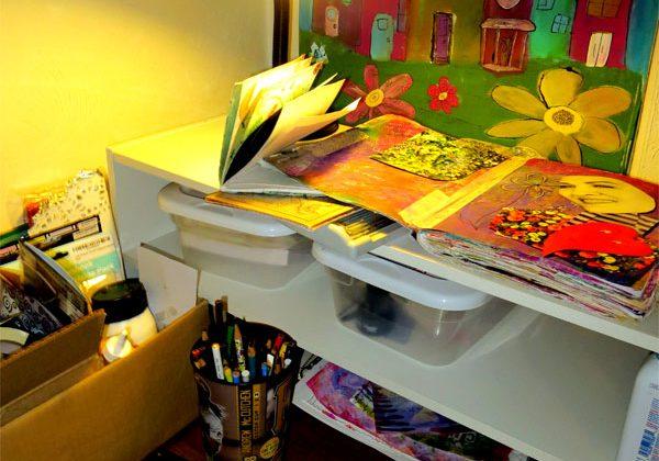 closet art studio