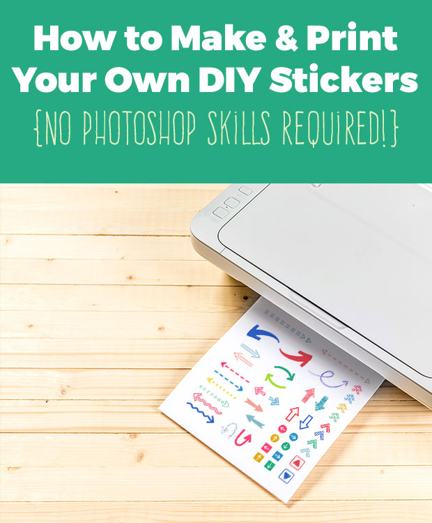 How to make your own stickers diy