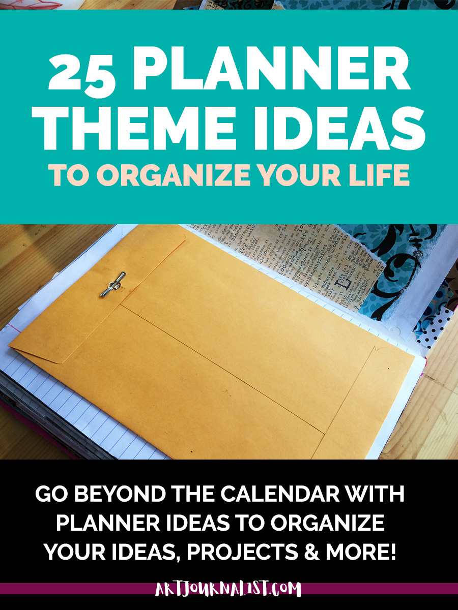 planner theme ideas