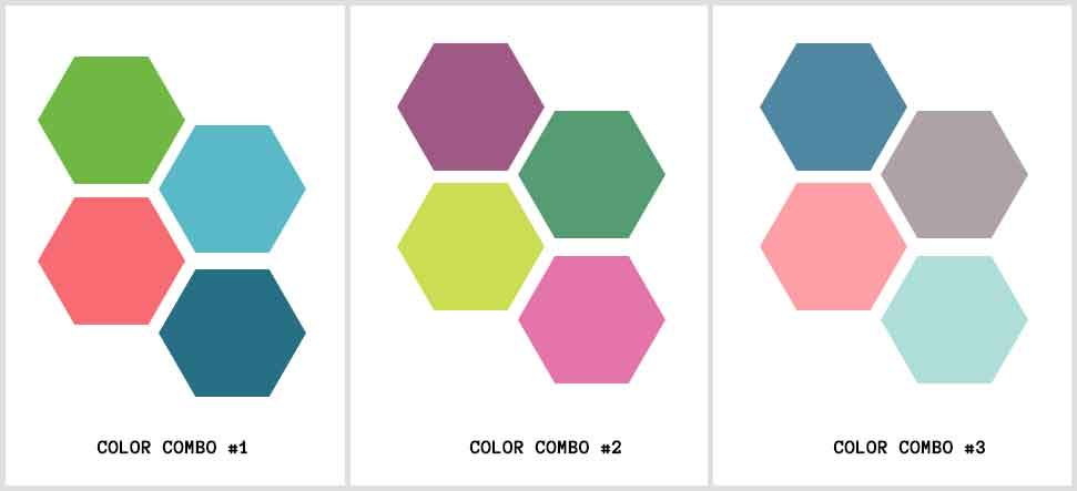 color combo mood board
