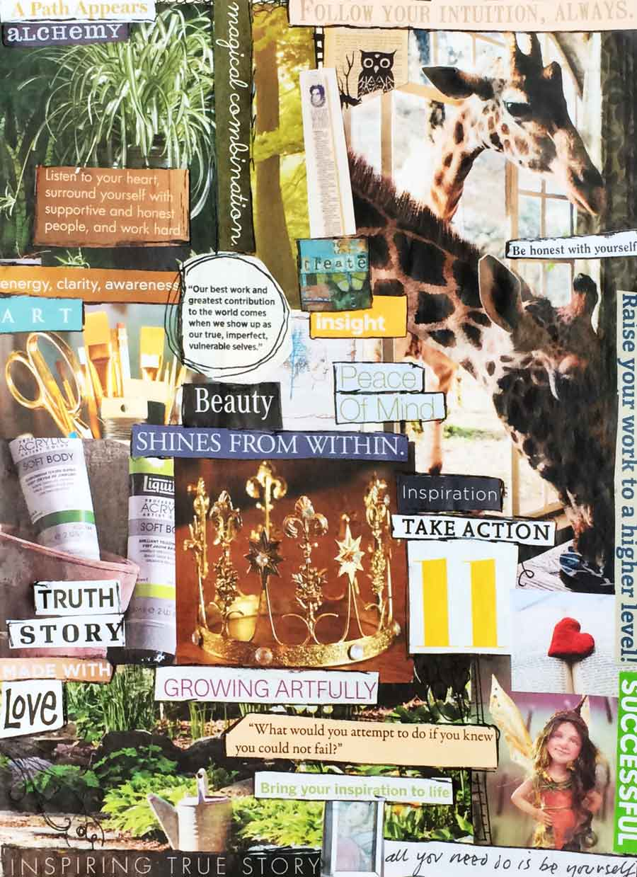 How to Make a Mood Board to Use in Your Creative Practice ...