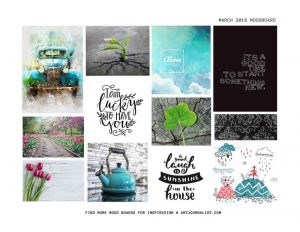 How to Make a Mood Board to Use in Your Creative Practice