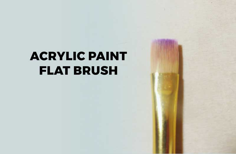 How To Paint Thin Strokes With A Brush Acrylic