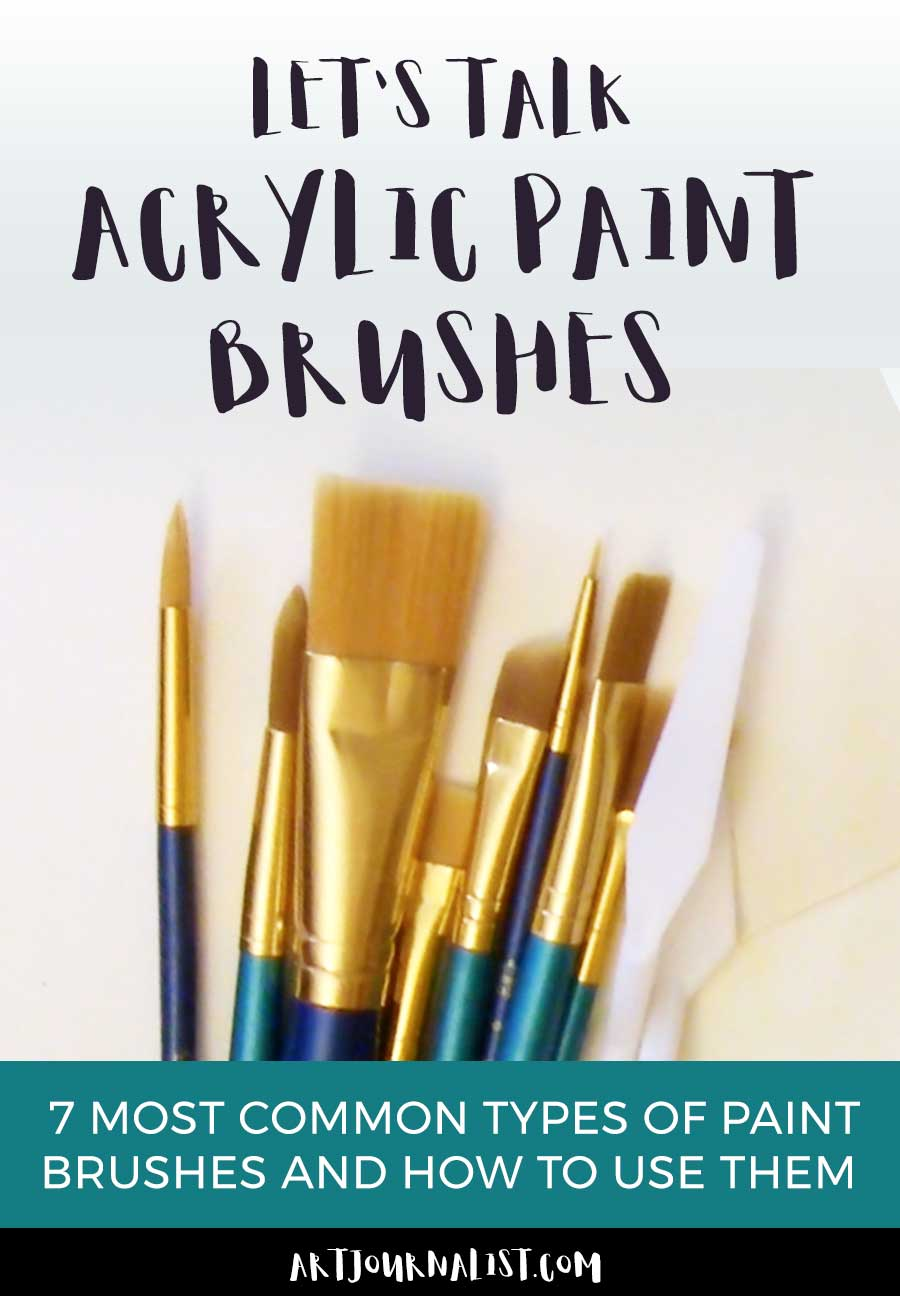 Acrylic Paint Brushes 101: Understanding Brush Types and