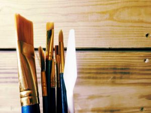 everything about acrylic paint brushes