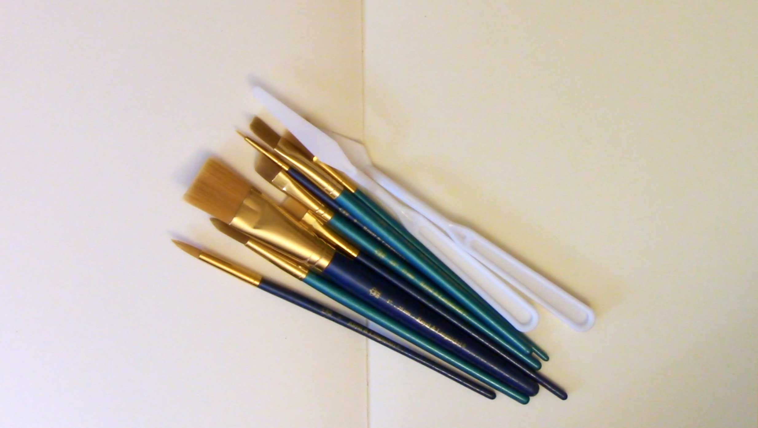 Basic Acrylic Paint Brushes