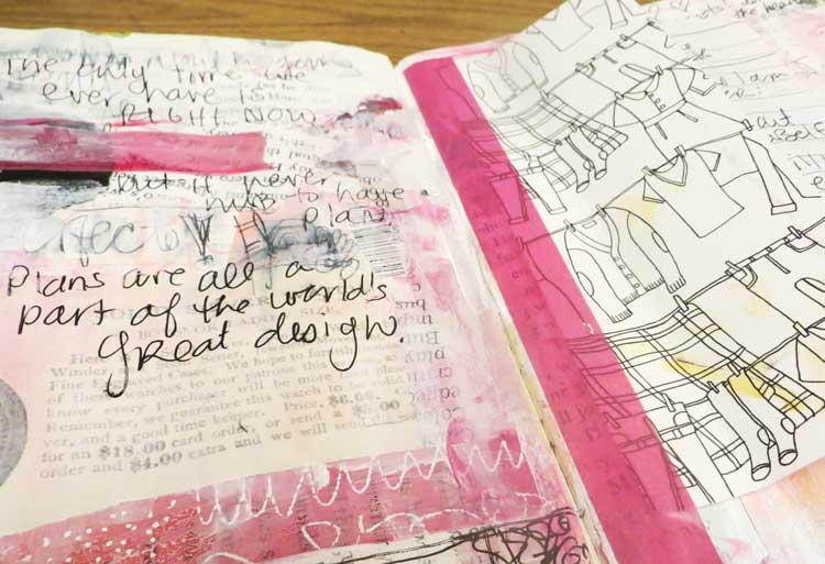 art journals for planning