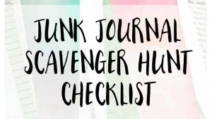 The Ultimate Scavenger Hunt List for Things to Collect for Art & Junk Journals