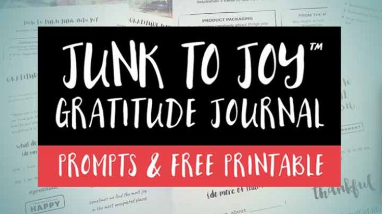 45 Gratitude Journal Prompts & Free Printable