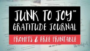 45 Gratitude Journal Prompts & Free Printable