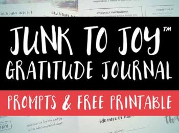 junk to joy gratitude journal prompts