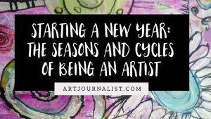 starting a new year as an artist