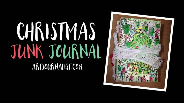 christmas junk journal ideas