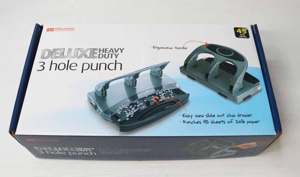 heavy duty hole punch