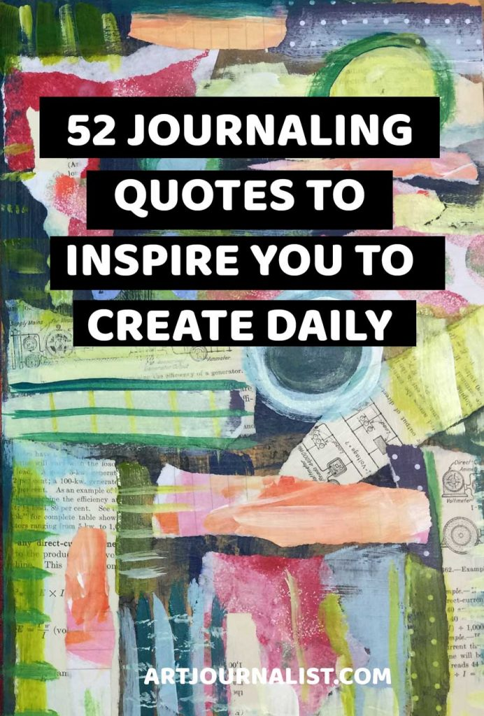 52 journaling quotes to inspire you to create daily